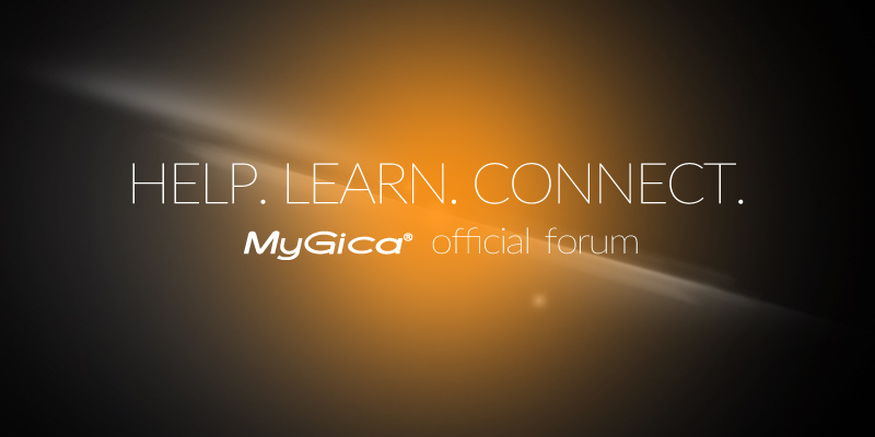MyGica Support Forum